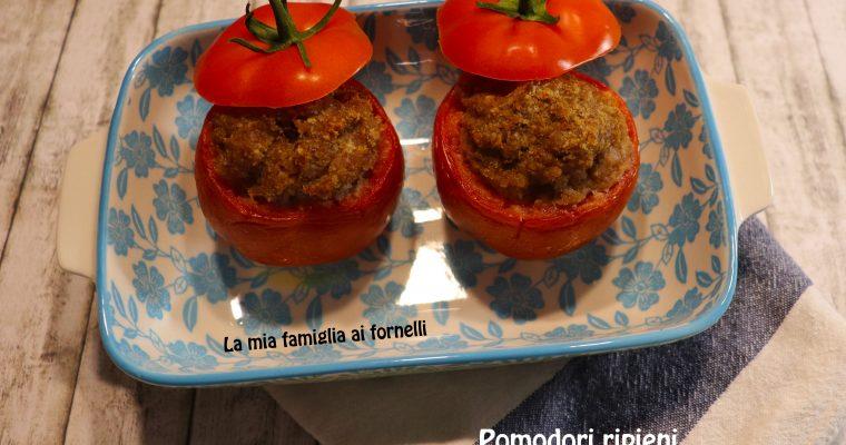 Pomodori ripieni di salsiccia